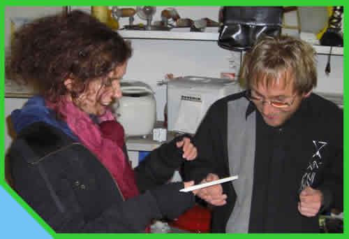 Andreas Landl mit Kathrin Marita Siegl