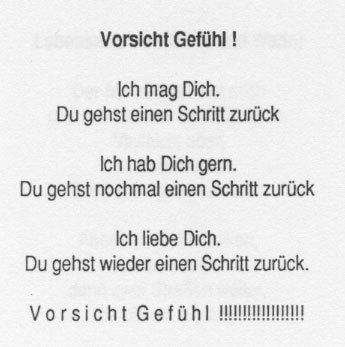 Andreas Landl VORSICHT GEFÜHL
